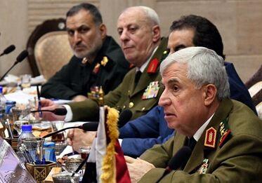 国际英语新闻:Syria, Iran, Iraq military chiefs discuss counter-terror, opening borders, restoring Syrian