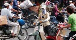 VOA慢速英语:越南未来禁止摩托车吗?