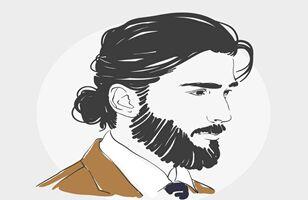新研究表明:大胡子男性携带的细菌比狗还多