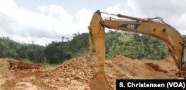 加纳努力结束非法金矿
