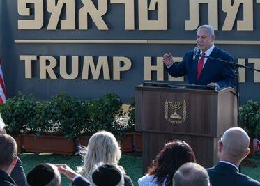 国际英语新闻:Israeli gov't inaugurates settlement in Golan Heights to honor Trump