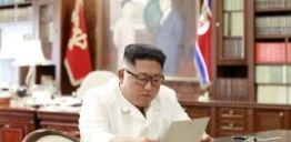 VOA慢速英语:朝鲜领导人称赞特朗普来信