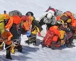 英语访谈节目:极为拥挤的珠穆朗玛峰