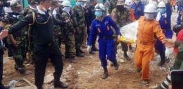 VOA慢速英语:柬埔寨大楼坍塌致28死