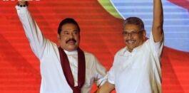 前斯里兰卡领导人的兄弟竞选总统