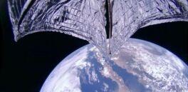 Solar Sail Experiment Demonstrates 'Flight by Light'