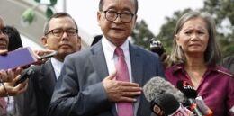 柬埔寨反对派称民主时机成熟