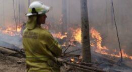 VOA慢速英语:野火产生的烟雾对健康有长期影响