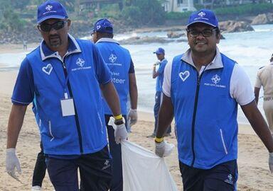 国际英语新闻:Port City Colombo launches year-long project to clean-up Sri Lankan beaches