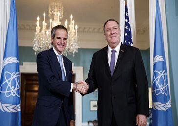 国际英语新闻:Pompeo discusses Iran with IAEA chief