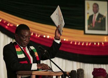 国际英语新闻:Zimbabwe's Mnangagwa thanks China for support in fight against COVID-19