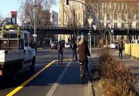疫情期间,德国城市扩充自行车道