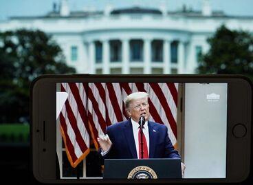 """国际英语新闻:Trump says U.S. """"terminating"""" relationship with WHO"""