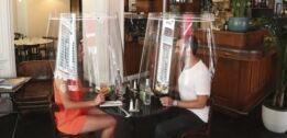 新冠病毒危机迫使餐馆发挥创意