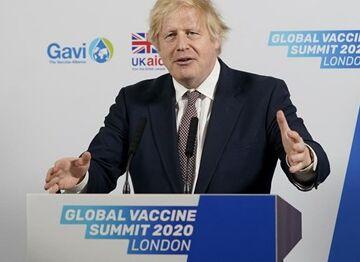 国际英语新闻:UK PM urges funding, global cooperation in virtual Global Vaccine Summit