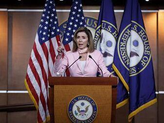 "国际英语新闻:Trump's withdrawal of U.S. from WHO ""act of true senselessness"": Nancy Pelosi"