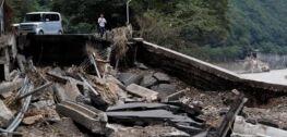 VOA慢速英语:日本西南部采取措施应对洪水与新冠病毒