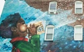 英语访谈节目:通过墙壁绘画表达自己的观点