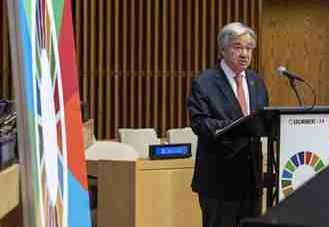 国际英语新闻:UN chief calls for political will for Sustainable Development Goals