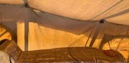 VOA慢速英语:考古学家在埃及发现27具2500多年前的石棺