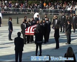 英语访谈节目:大法官金斯伯格的葬礼