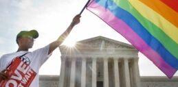 VOA慢速英语:同性恋婚姻在美国合法化以来增长了70%