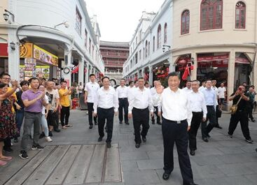 国内英语新闻:Xi Focus: Xi inspects southern China's Guangdong Province