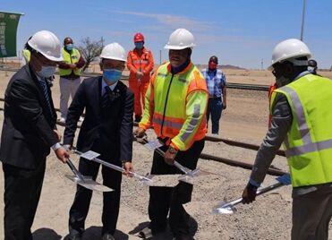 国际英语新闻:Chinese construction company to help strengthen Namibia's transport, logistics