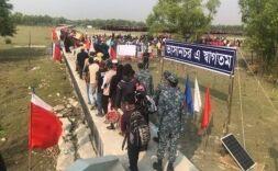孟加拉国首批罗兴亚难民已被转移至孤岛安置点