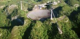 VOA慢速英语:巨大的波多黎各望远镜倒塌了