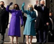 """VOA慢速英语:美国第46任总统拜登宣誓就职 演说呼吁""""团结"""""""