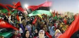 VOA慢速英语:利比亚人以临时政府的眼光纪念2011年的起义