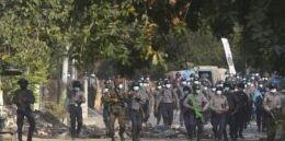 缅甸对昂山素季提出更多指控 抗议活动仍在继续