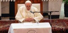 VOA慢速英语:在对伊拉克的历史性访问中 教皇敦促尊重伊拉克的基督教徒