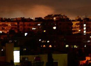 国际英语新闻:Israel attacks vicinity of Syrian capital