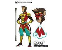 """DC推出新英雄""""猴王子"""",其形象以美猴王为灵感"""