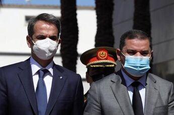 国际英语新闻:Libya, Greece PMs discuss improving bilateral relations