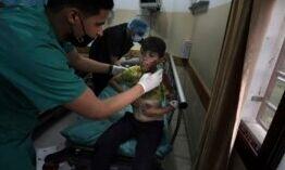 加沙的巴勒斯坦人无处可逃