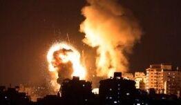 慢速英语:哈马斯发射火箭弹 以色列在紧张局势升级时发动空袭